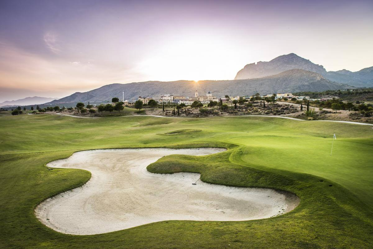 Villaitana Poniente Golf Course