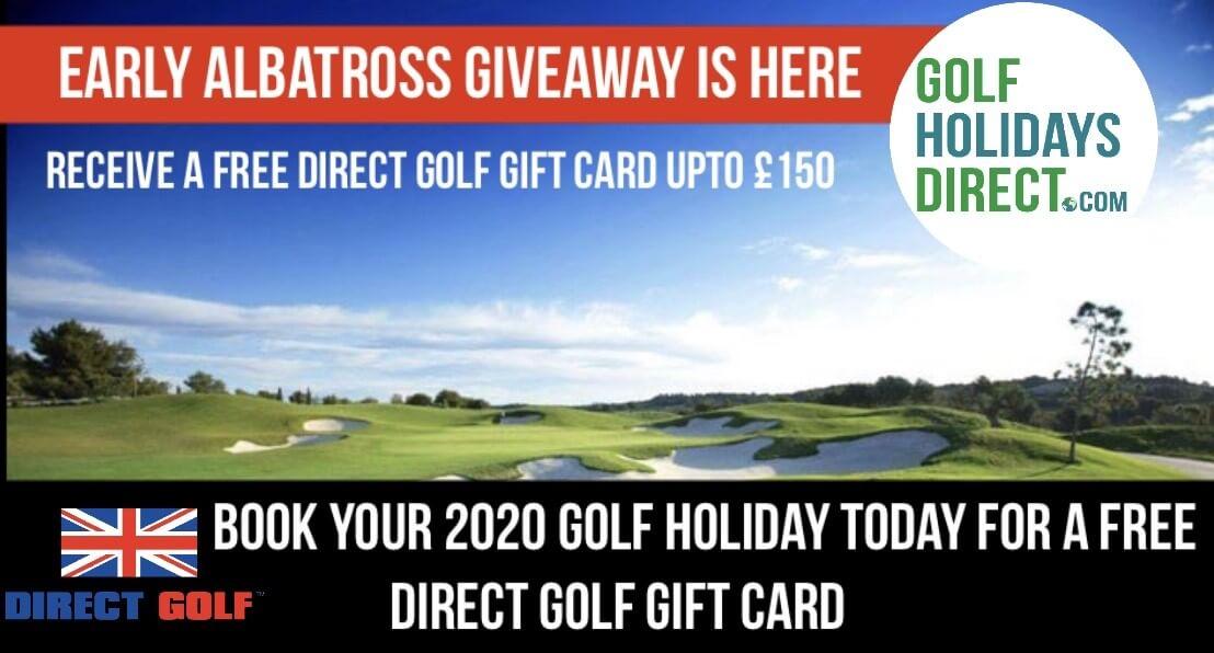 Golf Holiday Voucher